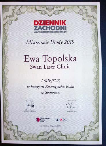Ewa Topolska Kosmetyczka Roku